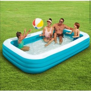 Other - Play Day 10 ft Inflatable Family Pool NIB